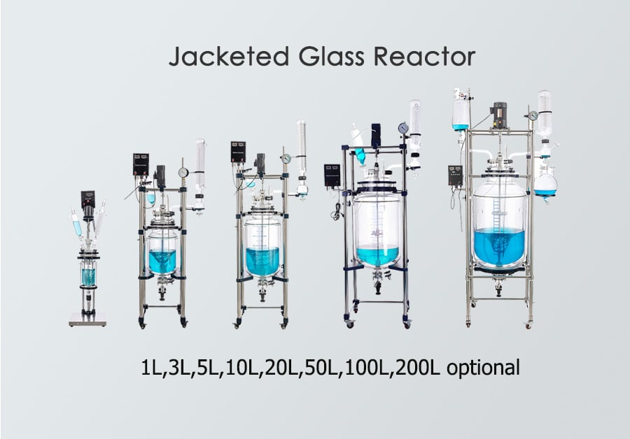 jacketed glass reactor
