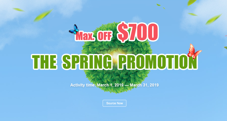 2019 The Spring Promotion