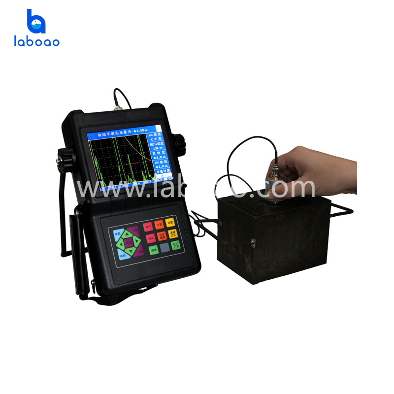 Adjustable repetition frequency ultrasonic flaw detector tester