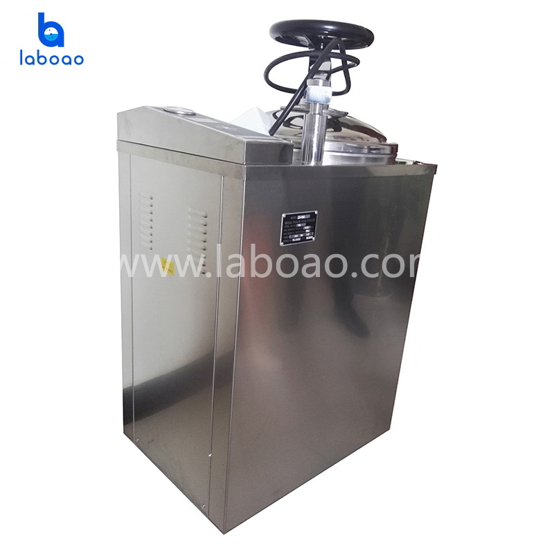 Automatic steam sterilizer with drying function
