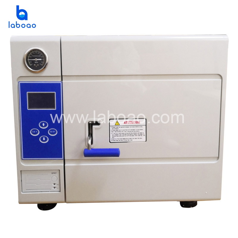 Benchtop Class B pulse vacuum steam sterilizer
