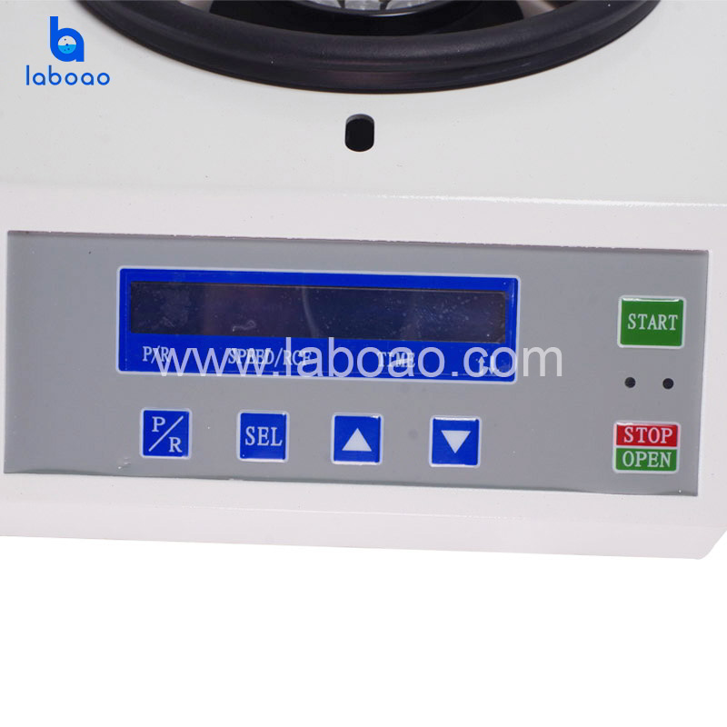 HW16 benchtop high speed micro centrifuge