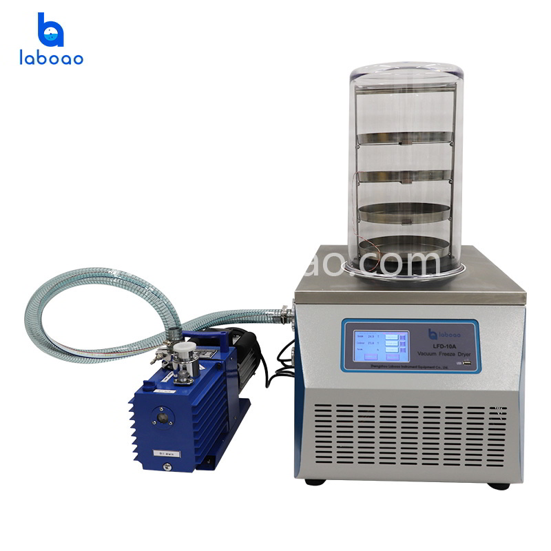 0.12㎡ benchtop normal lab freeze dryer