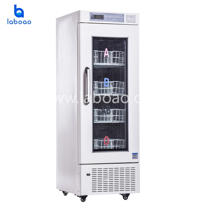 Blood bank refrigerator for hospital and CDC
