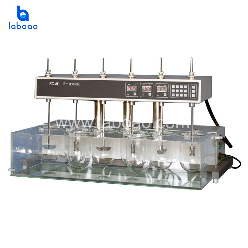 RC-8D dissolution tester with auto head lifting