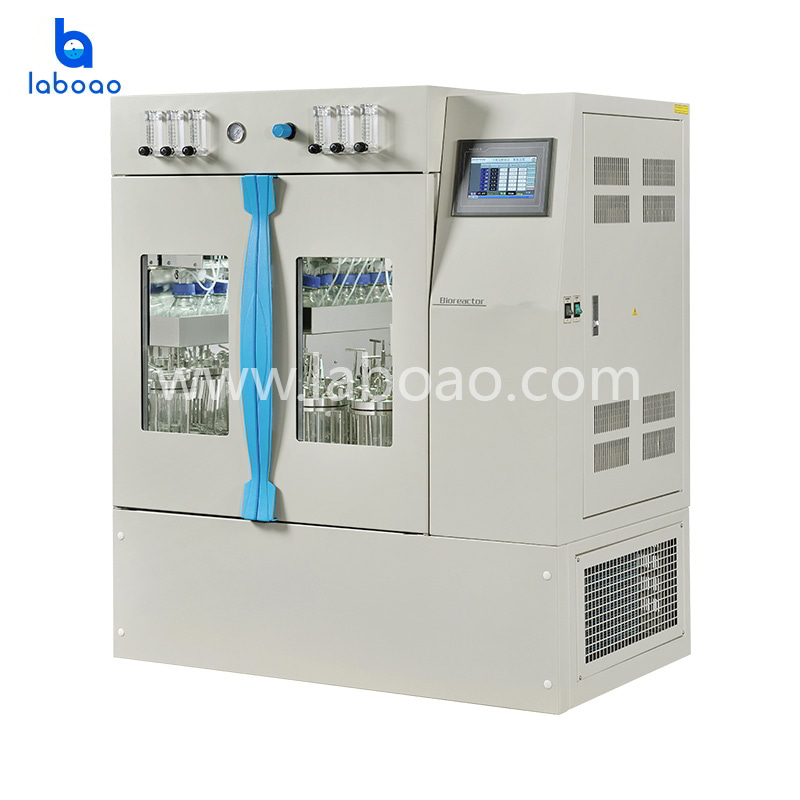 High-throughput bioreactor incubator shaker