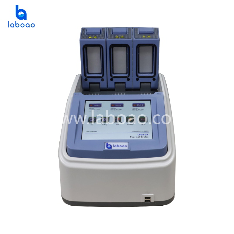 Intelligent three slot thermal cycler with independent modules