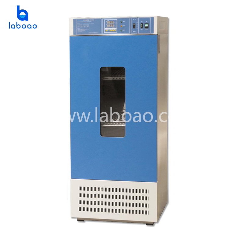 Laboratory biochemical incubator for microbial culture