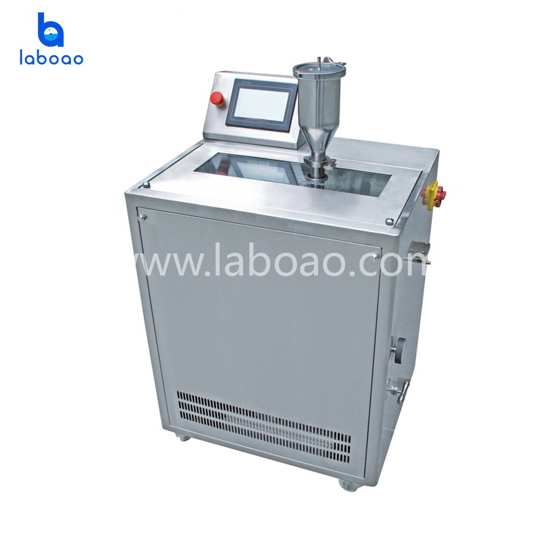 30L Low temperature ultra high pressure continuous flow cell crusher