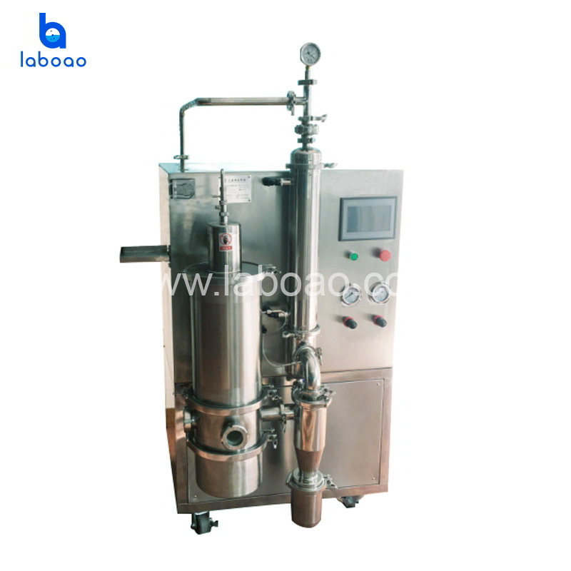 Low temperature vacuum spray drying machine