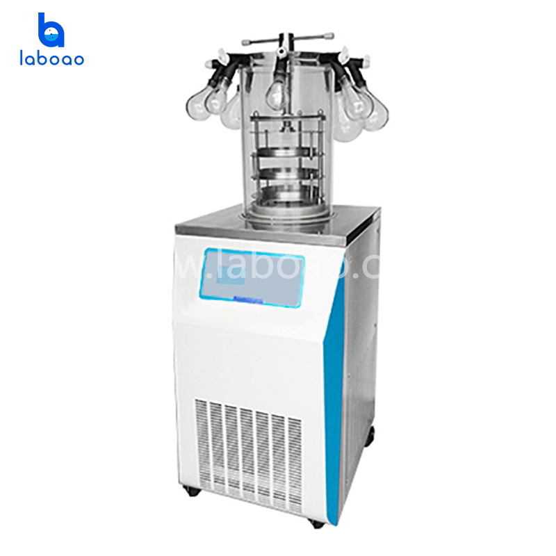 0.09㎡ manifold top press lab freeze dryer