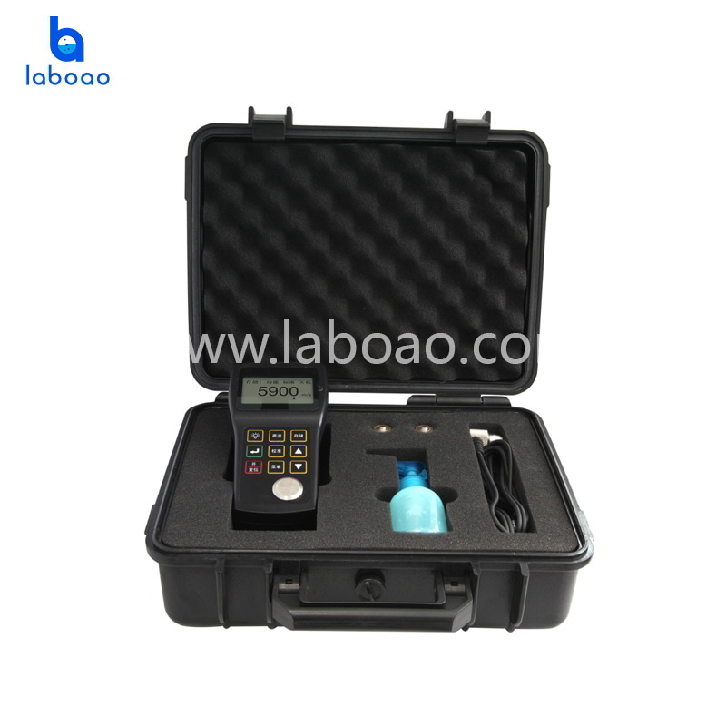 Mini digital ultrasonic thickness gauge for metal testing