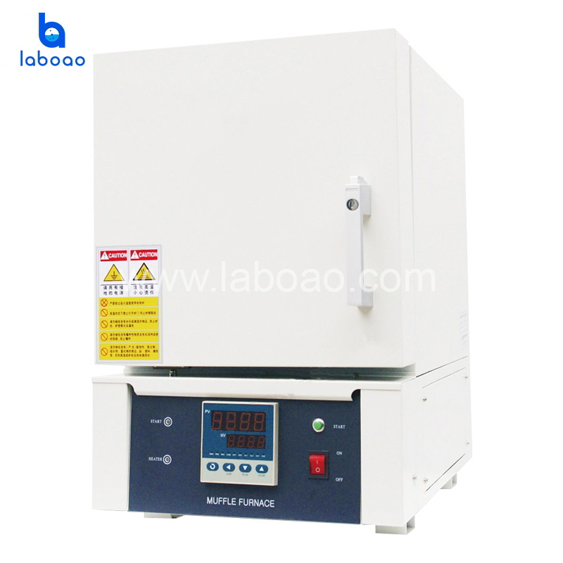 L-12T 1200°C muffle furnace with Ceramic fiber furnace