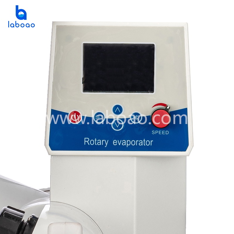 1L rotary evaporator with LCD display