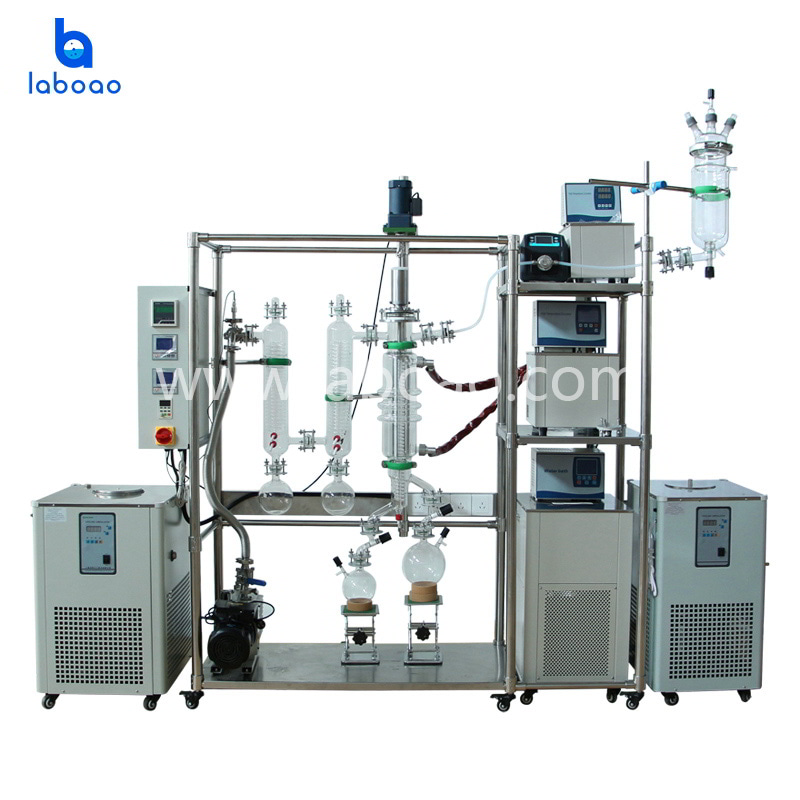 Short Path evaporator molecular distillation machine