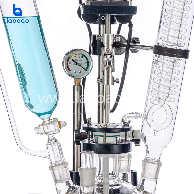 3L single layer glass reactor