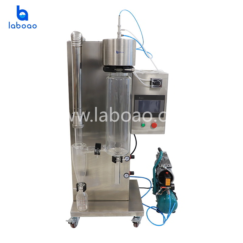 Small lab spray dryer