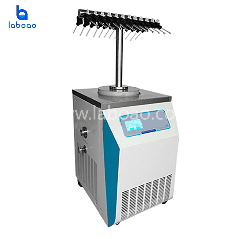 T type vertical lab freeze dryer