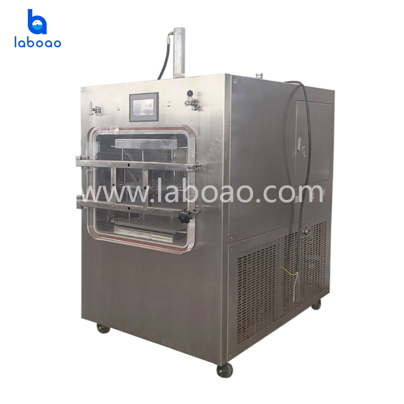 1㎡ top press silicone oil heating lyophilizer