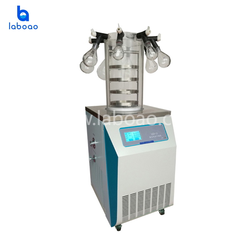 0.12㎡ vertical manifold lab freeze dryer