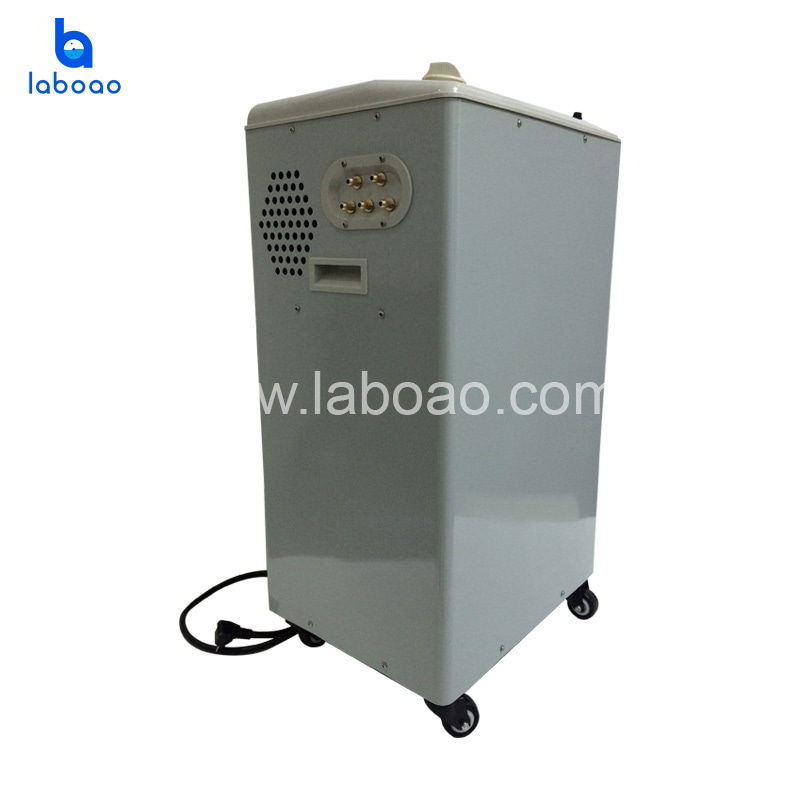 Vertical water circulating vacuum pump
